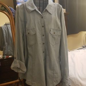 Style and Co Women's Button Up Shirt